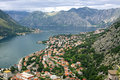 Kotor Bay, Montenegro Royalty Free Stock Photography
