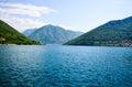 Kotor bay Montenegro Royalty Free Stock Photo