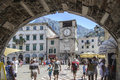 Kotor, montenegro, europe, entrance in the square of arms