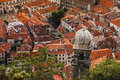 Kotor Old Town Rooftops Royalty Free Stock Photo