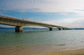 Kouri ohashi bridge okinawa Royalty Free Stock Photos