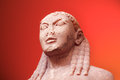 Kouros ancient greek statue Stock Photo