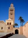 Koutoubia Moschee, Marrakesch Stockfoto