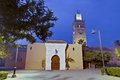 Koutoubia Mosque at Marrakech, Morocco Stock Images