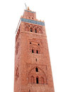 Koutoubia mosque in Marrakesh, Morocco Royalty Free Stock Photography