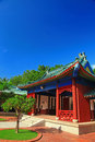 Koxinga Shrine - Historic Site of Tainan Royalty Free Stock Photo