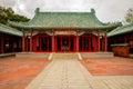 Koxinga Shrine in Tainan, Taiwan Royalty Free Stock Photo