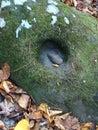 Koziołkująca skała Zdjęcia Royalty Free