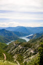 Kozjak lake in Macedonia Royalty Free Stock Photo