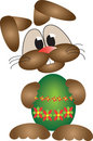 Królik Easter szczęśliwy Zdjęcia Royalty Free