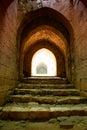 Krak des Chevaliers citadel tower Syria Royalty Free Stock Photo
