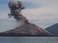 Krakatoa Royalty Free Stock Photos