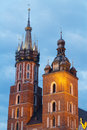Krakow city in Poland, Europe Stock Photography