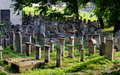 Krakow, Poland: Remu'h Synagogue Cemetery Stock Photos