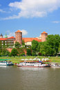Krakow, Poland, Wawel Castle Stock Images