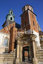 Krakow - Royal Cathedral - Wawel Hill - Poland Stock Photo