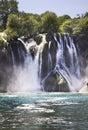 Kravice falls in ljubuski bosnia and herzegovina Stock Image