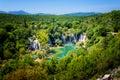 Kravice waterfall on Trebizat River in Bosnia and Herzegovina Royalty Free Stock Photo