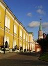 Kremlin Arsenal building, Moscow Kremlin, Russia Royalty Free Stock Photo