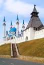 Kremlin is in city Kazan Royalty Free Stock Photo