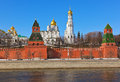Kremlin in Moscow (Russia) Royalty Free Stock Photography