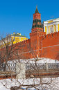 Kremlin in Moscow (Russia) Royalty Free Stock Photos