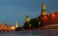 Kremlin's Walls Royalty Free Stock Photo