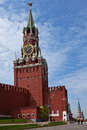 Kremlin tower in moscow russia Stock Image