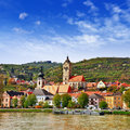 Krems austria beautiful on donau upper Royalty Free Stock Photos