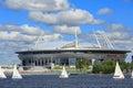 The Krestovsky Stadium, also called Zenit Arena. Saint Petersbug, Russia