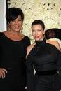Kris Jenner, Kim Kardashian, Four Seasons Royalty Free Stock Photo