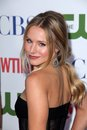 Kristen bell at the cbs the cw and showtime tca party the pagoda beverly hills ca Stock Photo