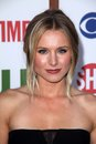 Kristen bell at the cbs the cw and showtime tca party the pagoda beverly hills ca Stock Image