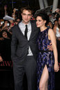 Kristen Stewart, Robert Pattinson Stock Images
