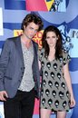 Kristen Stewart,Robert Pattinson Royalty Free Stock Images