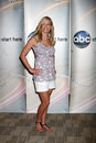 Kristi leskinen at the disney abc television group summer press junket at the abc offices in burbank ca on may Stock Images