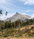 Krivan peak in High Tatras mountains in Slovakia