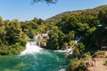 Krka national park croatia waterfall in Royalty Free Stock Photos