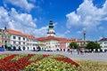 Kromeriz castle unesco and square in kromeriz moravia czech republic aug baroque historical republic Royalty Free Stock Photography
