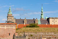 Kronborg castle in elsinore helsingor denmark Royalty Free Stock Photography