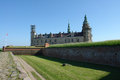 Kronborg castle of hamlet elsinore helsingor denmark by william shakespeare Royalty Free Stock Photography