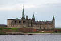 Kronborg castle in Helsingor, Denmark Royalty Free Stock Photos