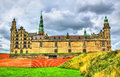 Kronborg Castle, known as Elsinore in the Tragedy of Hamlet - Denmark Royalty Free Stock Photo