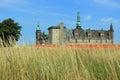 Kronborg stronghold in elsinore denmark Royalty Free Stock Photo