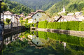Kropa slovenia village blacksmiths town in Stock Photos