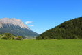 Krunglwald in the enns valley austria Royalty Free Stock Photo