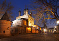 Krutitskoe the patriarch farmstead at nigh moscow russia Royalty Free Stock Image