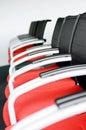 Krzesło rząd Fotografia Stock