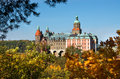 Ksiaz castle in Poland Royalty Free Stock Photo