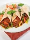 Köstliche Fajitas Lizenzfreies Stockfoto